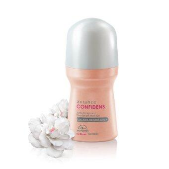 aviance โรลออน ลดเหงื่อ ระงับกลิ่นกาย ให้ผิวเรียบเนียนกระชับ สำหรับผู้หญิง Confidens for Women 50 ml