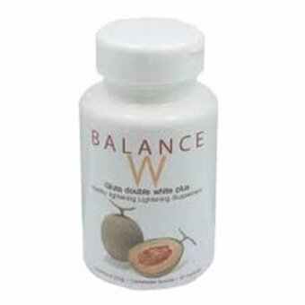 Harga Balance W Gluta Double White Plus สินค้า Premium