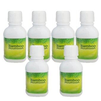Bamboo mouthwash น้ำยาบ้วนปาก 300ml. (6 ขวด)