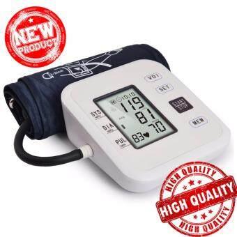 Bangkok life เครื่องวัดความดันโลหิต Arm Blood Pressure Monitor LCD Heart Beat Home Sphgmomanometer
