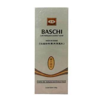baschi Lait nettoyant contre L' acnee high in rank โฟมล้างหน้าขจัดรอยหมองคล้ำ 80g (1 กล่อง)
