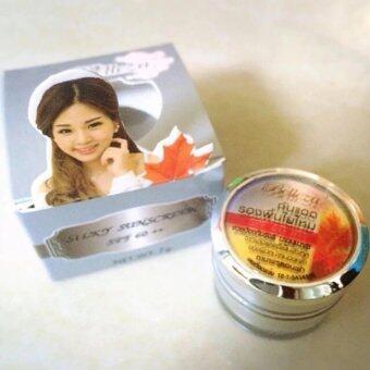 Belleza ครีมกันแดดรองพื้นใยไหม เบลเลซ่า Belleza Silky Sunscreen SPF60 ++ ( ขนาด 15 g)