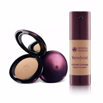 Beneficial Ultimate Coverage Foundation Powder No.03 Nude & Beneficial Ultimate Coverage Liquid Foundation No.03 Nude