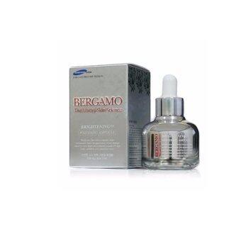 Bergamo The Luxury Skin Science BrighteningEX Whitening Ampoule ใหม่เซรั่มเข้มข้นสูตรพิเศษ 30 ml.