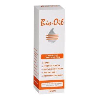 Bio-Oil Specialist Skincare ไบโอ-ออยล์ ออยสารพัดประโยชน์ลบรอยแผลเป็น ผิวแตกลาย 125ml. (1 ขวด)