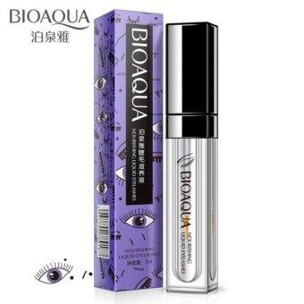 Bioaqua nourishing liquid eyelashes 7 ml เซรั่มบำรุงขนตา ให้หนายาวขึ้น สูตรฟื้นฟูขนตาเร่งด่วน 1 ชิ้น