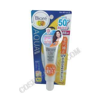 Biore UV Aqua Rich watery mousse SPF50+/ PA++++ ครีมกันแดด+เมคอัพเบส ขนาด 33 กรัม