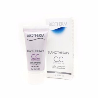Harga BIOTHERM Blanc Therapy C.C. Evenness color correction smoothingbase spf50+ / pa++ 5ml.