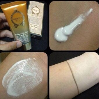 Harga bisous bisous the white queen milky white skin glutathione 35g.