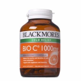 Blackmores BIO C 1000mg (150 เม็ด) แบลคมอร์ วิตามิน ไบโอ ซี