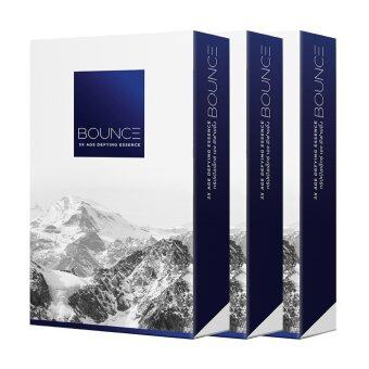 BOUNCE TripleX Age Defying Esscence ครีมยกกระชับและลบเลือนริ้วรอย 7ซอง (3 กล่อง)