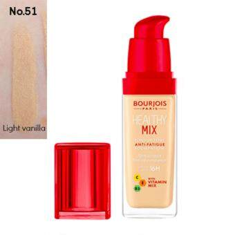 Bourjois Healthy Mix Foundation #51 Light Vanilla Clair ผิวขาว