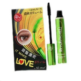 B.Q. Cover Perfect Eyelash Mascara บีคิว คอฟเวอร์ อายแลช มาสคาร่าเขียว ยาวเรียงเส้น ขนตาหนา 1 แท่ง