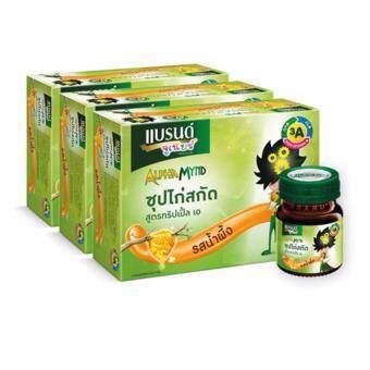 BRAND'S แบรนด์จูเนียร์ สูตรทริปเปิ้ลเอ รสน้ำผึ้ง 42 มล. (3 โหล)