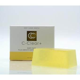 ต้องการขายด่วน C CLEAR สบู่ล้างหน้า สูตร BABY FACE PLUS SMOOTH EXTRA SNAIL SOAP 90 g x 1 unit