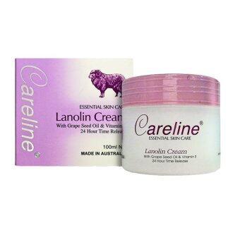 Careline Lanolin Cream With Collagen + Vitamin E 100ml