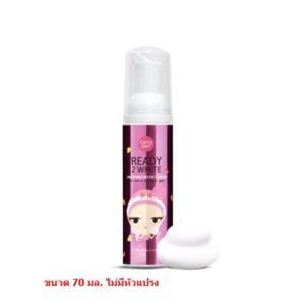 Cathy Doll Ready2White 2 IN 1 Bubble Mousse Cleanser (70 ml.) 1 ขวด