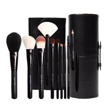 Cerro Qreen Professional Makeup Brushes Dream Setแปรงแต่งหน้า /10 ชิ้น ( Black)
