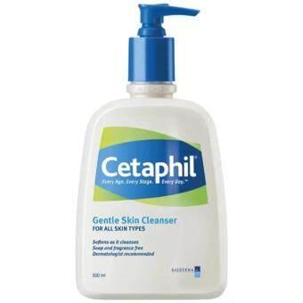 Cetaphil Gentle Skin Cleanser 500mlผลิตภัณฑ์ทำความสะอาดผิวสูตรอ่อนโยน