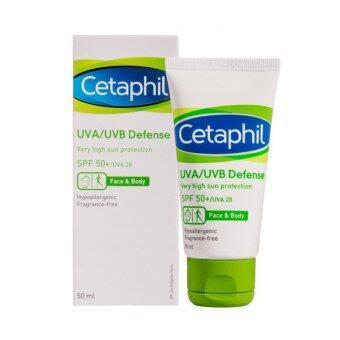 Cetaphil UVA/UVB Defence SPF50+ 50 ml (โฉมใหม่)