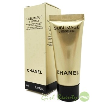 CHANEL (NEW) Sublimage L'Essence Ultimate Revitalizing &Light-Activating Concentrate 5ml.
