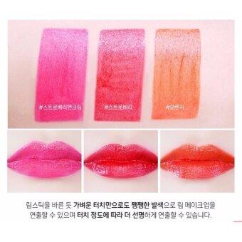 CHUPA CHUPS Lip Locker Strawberry&Cream #01 สีชมพู - 4