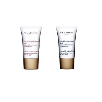 Harga Clarins Extra Firming Cream Set Day Night