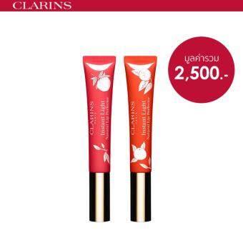 CLARINS ชุดเซ็ทผลิตภัณฑ์บำรุงริมฝีปาก Instant Light Natural Lip Perfector Value Pack - Limited Edition