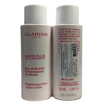 Clarins White Plus Brightening Pure Aqua Lotion 50ml (2 กระปุก)
