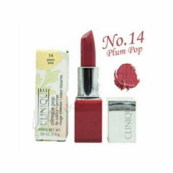 Harga Clinique Pop Lip Colour and Primer No. 14 Plum Pop (2.3 g)(Red)