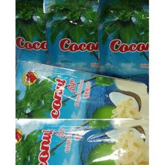 กรีนนี่ฟรุต มะพร้าวอบกรอบ Coconut chips ทานเล่น เคี้ยวเพลินยามพักผ่อน