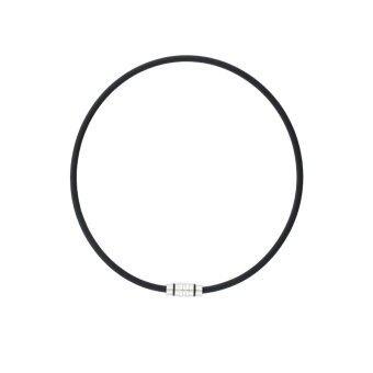 Colantotte TAO Necklace CREST สร้อยคอแม่เหล็กบรรเทาอาการปวดคอ บ่า ไหล่ - Black