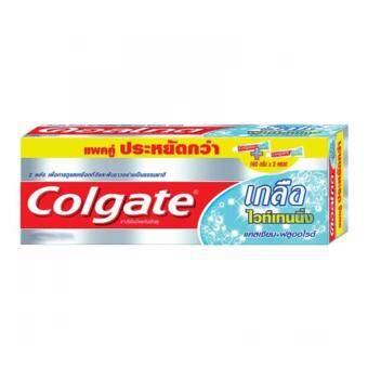 รีวิว COLGATE ยาสีฟัน เกลือไวท์เทนนิ่ง 150 กรัม - แพ็คคู่