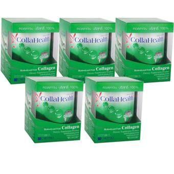 Collahealth Collagen คอลลาเฮลท์ คอลลาเจน 200g x 5 Bottle