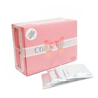 เปรียบเทียบราคา Colly Collagen Brands คอลลาเจนอาหารเสริมแท้ COLLY PINK 6000 mg. (30ซอง/Packed)