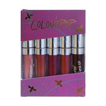 Colourpop Ultra Matte Mini Kits ลิปสติกเนื้อลิขวิดไซต์มินิมาในเซต 5 สี สีสวย เม็ดสีแน่น เนื้อบางเบาทาแล้วแมทแห้งสนิทกับริมฝีปาก กลบสีปากได้มิด ติดทนนาน คุณภาพดีเกินราคา 5x1g #Kitty (1 เซ็ท)