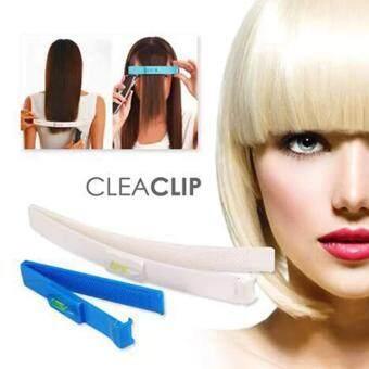2560 Crea Clip อุปกรณ์ช่วยตัดผมหน้าม้า (สีขาว - ฟ้า)