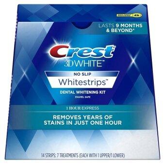 แผ่นฟอกฟันขาว Crest 1 Hour Express