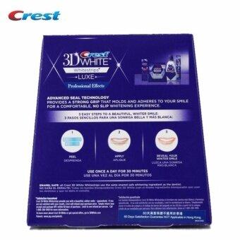 แผ่นฟอกฟันขาว Crest 3D White Luxe Professional Effects 1 กล่อง