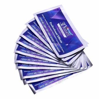 แผ่นฟอกฟันขาว Crest 3D White Luxe Professional Effects 10ซอง