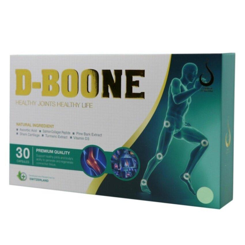 จัดโปรโมชั่น D-BOONE ดีบูน ดูแลไขข้อเสื่อม สะโพกเสื่อมกระดูกทับเส้น โรคกระดูกสันหลัง (1 กล่อง 30 แคปซูล)