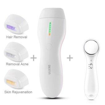 DEESS 3 IN 1 Beauty device Permanent Hair Removalskinrejuvenation remove acneArmpit Hair Bikini Beard 350000 Pulse -intl