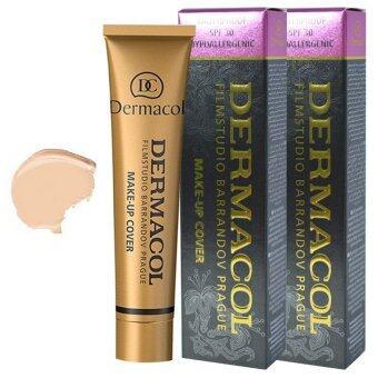 DERMACOL FILM STUDIO BARRANDOV PRAGUE Dermacol make-up coverSPF30 เบอร์ 207 สำหรับผิวขาว (2 กล่อง)