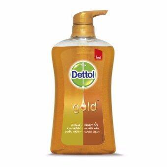 ประกาศขาย Dettol Gold Shower Gel Classic Clean 500 ml. โกลด์ สบู่เหลวอาบน้ำสูตร คลาสสิค คลีน