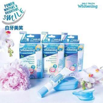 Dr.c truth whitening เจลฟอกฟันขาว(ซื้อ 3 กล่อง คุ้มกว่า!!)