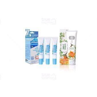 เจลฟอกสีฟัน Dr.C Truth Whitening Serum 3 กล่อง แถมฟรี Dr.C Toothpaste Jasmine Mint Flavour Plus Vitamin C Bead