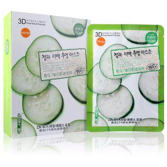 East-Skin Cucumber Whitening Glowing Facial Mask- 3D มาร์คหน้า สูตรแตงกวา (10 แผ่น/ กล่อง)