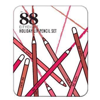 EITY EIGHT Ver.88 Holiday Lip Pencil Set ลิปดินสอเนื้อแมท ( 1 กล่อง)