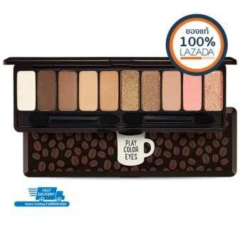 Etude House พาเลตอายแชโดว์ของแท้ 100% Play Color Eyes # In The Cafe