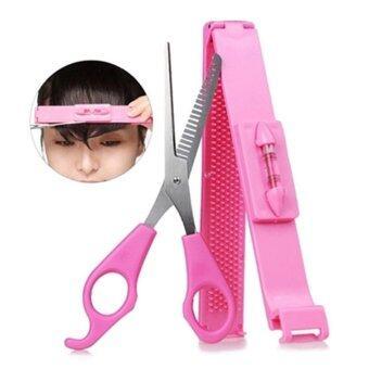 Etude House Hair Tools Bangs Cut Kit ชุดอุปกรณ์ตัดแต่งทรงผมม้า อุปกรณ์วัด และ กรรไกรตัดผม ซอยผม สไลด์ผม